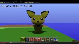 Pichu / Pokemon Minecraft Map & Project