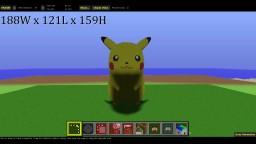 Pikachu / Pokemon Minecraft Map & Project