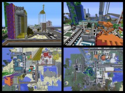 City of Vanguard Update 1.7.2 (Terminated) Updated Save Minecraft Map & Project