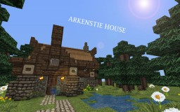 Arkenstie House | Small Medieval Home Minecraft Map & Project