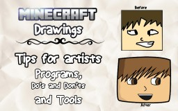 Tips and Tricks For Minecraft Artists! [POP REEL] Minecraft Blog
