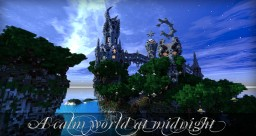 A calm world at midnight Minecraft Project