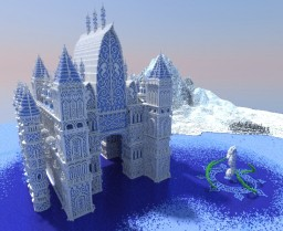 Stronghold of the Snowy Seahorse Minecraft
