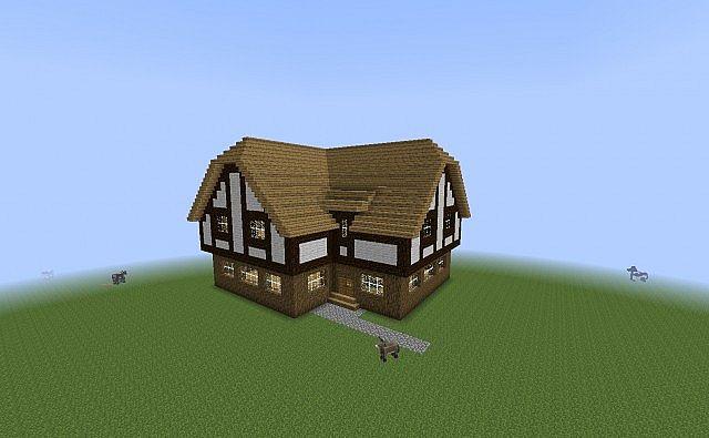 Medieval Tudor House Minecraft Project