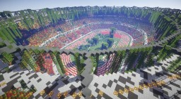 Apocalyptic Style Stadium Minecraft Map & Project