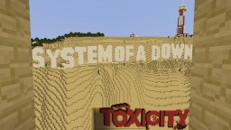 System Of A Down Toxicity Album Cover Minecraft Map & Project