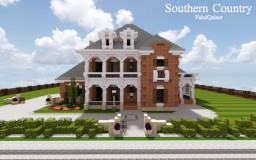 Southern Country Mansion | Cubed Creative Minecraft