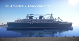 SS America / American Star by Kitalou & kirelire + Schematic Minecraft Map & Project