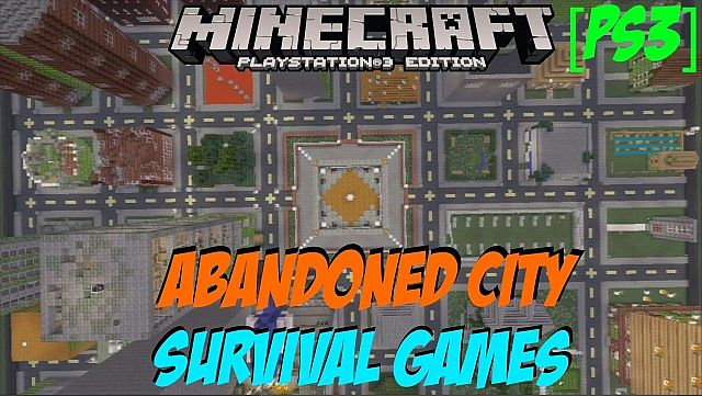 Abandoned City Survival Games Minecraft PS3 Download Minecraft