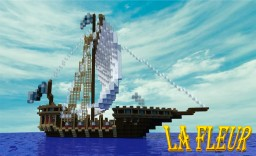 La Fleur- small medieval inspired ship Minecraft Map & Project
