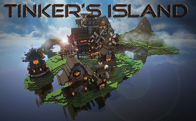 Карта Epave Island для Майнкрафт 1.10.2
