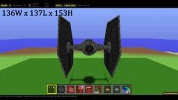 TIE-Fighter / Star Wars Minecraft Map & Project