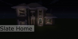 Slate Home Minecraft Map & Project