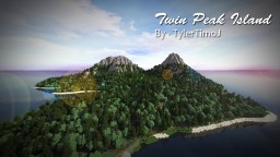 Twin Peak Island [Custom Terrain] Minecraft Map & Project