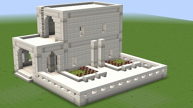 Ultima online marble house with patio 8 9 minecraft project for House project online