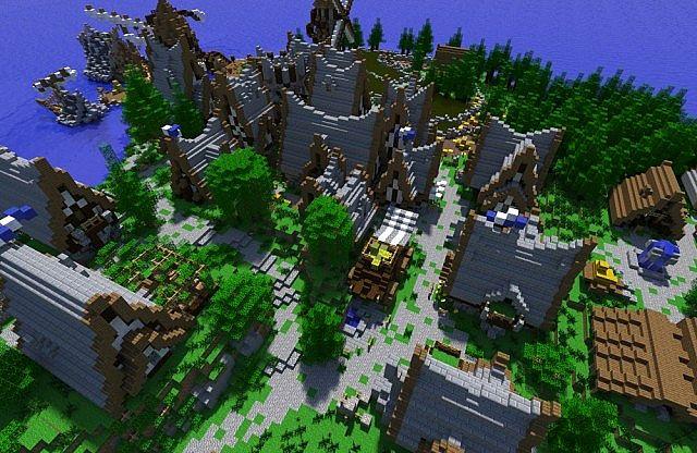 Скачать карту Деревня для Майнкрафт бесплатно - Карты для ...