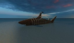 Shark Submarine Minecraft Map & Project