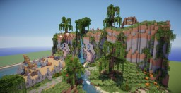 Fantasy Village Minecraft