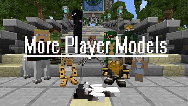 More Player Models Minecraft Mod - Minecraft name andern deutsch