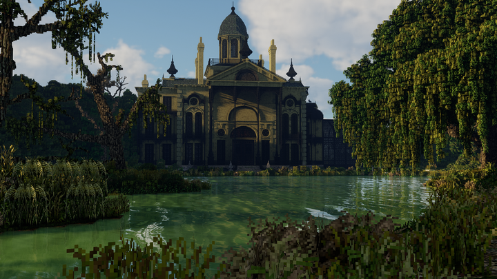 Re-Textured Mansion with new improved swamp water