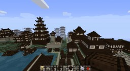 Japanese Village Minecraft