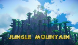 Jungle Mountain Minecraft Map & Project