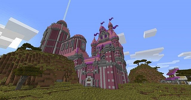 Princess Castle Forever Unfinished Minecraft Project