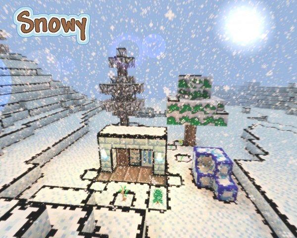 All snow biomes
