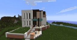 Modern Mansion [No Interior] Minecraft Project