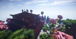Asian Inspired Village Spawn Minecraft Map & Project