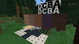 LifeBlocks - Basic Letters Bricks Tiles and Laminated Wood Flooring (HD/SD) Works with Carpenters Blocks Mod