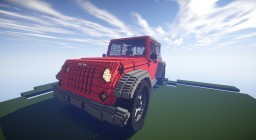 Jeep Wrangler Minecraft