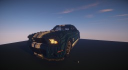 Ford Mustang Shelby GT500 Minecraft Map & Project