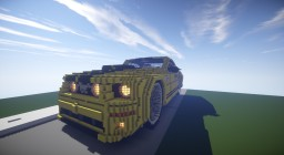 FORD MUSTANG GT Minecraft Map & Project