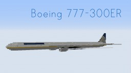 Boeing 777-300ER (9 Liveries) Minecraft Project