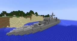 Hayabusa Class Missile Boat (Japan) Minecraft Map & Project