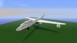 Jumbo Jet [Revisit!] A Jumbo Jet / Boeing 747 plane by CaptainCarlo Minecraft Map & Project