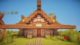 Whitemare Inn | Medieval Inn Minecraft Map & Project