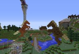 Viking Villiage - Farming Area Gates Minecraft Map & Project