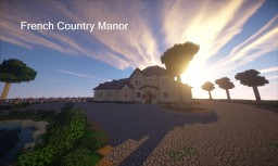 French Country Manor Minecraft Map & Project