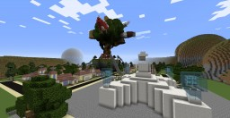 Cartoon Network's famous places Minecraft Project