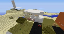A 1:1 model  of my house Minecraft Map & Project