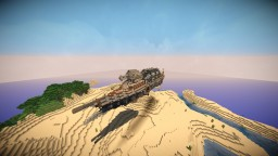 An Airship Minecraft Map & Project