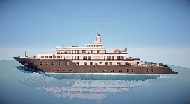 Minecraft Super Yacht Related Keywords Suggestions Minecraft