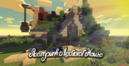 Steampunk Medieval Witch House *Detailed* by ergunozden (Updated) Minecraft Map & Project
