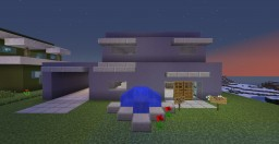"Schematic Collection: Modern House ""Newton"" No.4 Minecraft Project"