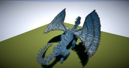 Blue Dragon | Old organic :) Minecraft Project