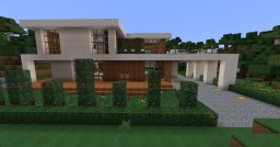 [1.7.10] Modern House 3 Minecraft Map & Project