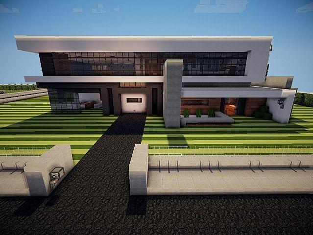 Maison moderne takencraft pyrotnt minecraft project for Maison moderne minecraft xbox one