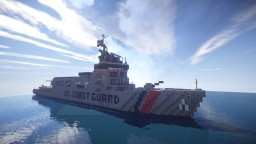 US Forge | NTC US. Coast Guard Ship | Grey Version Minecraft Map & Project